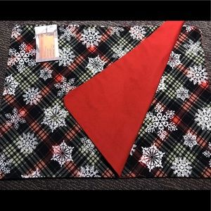 Christmas snowflake placemats - NEW